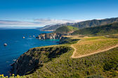 Big sur kust — Stockfoto