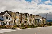 Nové řadové domy — Stock fotografie