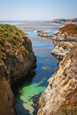 Narrow Coastal Inlet — Stockfoto