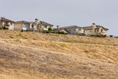 Houses Along a Ridge — Stock Photo