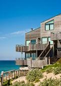 Dom nad oceanem — Zdjęcie stockowe