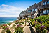 Maisons de ville de bord de mer — Photo