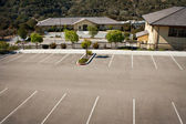 Empty Parking Lot — 图库照片