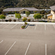 Royalty-Free Stock Photo: Empty Parking Lot