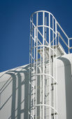 Water Storage Tank Ladder — Stockfoto