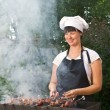 Woman cook — Stock Photo #12403651