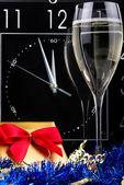 Three minutes to New Year — Stock Photo