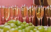Sparkling wine — Stock Photo