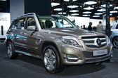 Mercedes Benz GLK 300 — Stock Photo