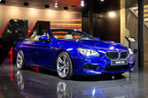 BMW M6 cabriolet — Stock Photo