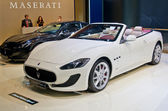 Maserati GranCabrio Sport — Stock Photo