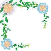 Flower of frame — Stock Photo