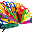 Color scissors - Stock Photo