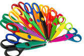 Color scissors — Stock Photo