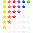 Rate Stars — Stock Photo