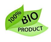 100 per cent Bio Product label — Stock Photo