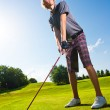 Male golf player — Stock Photo #12278533
