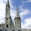 Stock Photo: Cathedral of Lourdes
