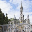 Cathedral of Lourdes - Stock Photo