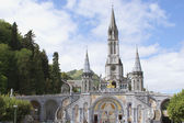 Cathedral of Lourdes — Stock Photo