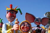Costumed for carnival — Stock Photo