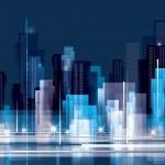 paisaje de la ciudad — Vector de stock  #12404359