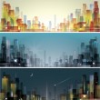 Royalty-Free Stock Vector Image: City landscape
