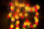 мокрое стекло — Стоковое фото