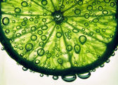 Fizzy lime — Stock Photo