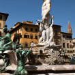 The Fountain of Neptune in Florence, Italy — Stock Photo