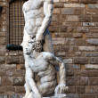 Hercules and Cacus by Bandinelli (1533) — Stock Photo