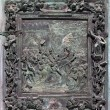 Fragment of the Pisa Cathedral bronze main doors — Stock Photo