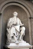 Pomnik filippo brunelleschi przez luigi pampaloni. — Zdjęcie stockowe