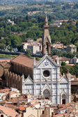Basilica of Santa Croce (Basilica of the Holy Cross) — Stok fotoğraf