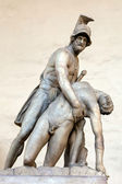 Menelaus supporting the body of Patroclus — Stock Photo