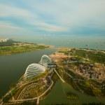 River Hongbao view from roof Marina Bay Hotel, Singapore. — Stock Photo