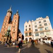 Historical center of Krakow — Stock Photo #12406750