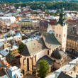 Stock Photo: Top view of Cathedral in Lviv, Ukraine.