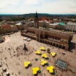 View of the Main Square in Kraków, Poland. — Stock Photo
