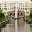 Peterhof Grand Cascade in St.Petersburg, Russia — Stock Photo #12406879