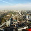 Panorama of Bangkok, Thailand. — Foto de Stock