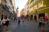 The historical center of Krakow — Stock Photo