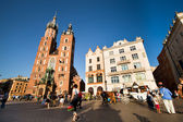 The historical center of Krakow — ストック写真