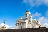 Cathedral on Senate Square in Helsinki. Finland. — Stock Photo