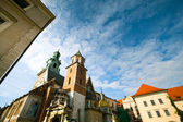 Wawel Castle in Cracow, Poland. — Stock Photo