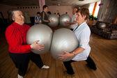 Dag hälsa i mitten av sociala tjänster för pensionärer och funktionshindrade otrada — Stockfoto