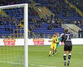 FC metalist Charkov vs fc obolon Kyjev fotbalový zápas