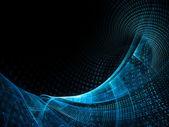 Modré pozadí abstraktní prvek