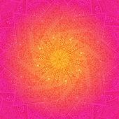 Pulzující vinobraní ornament růžové karta