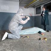 Scény vyšetřování zločinu